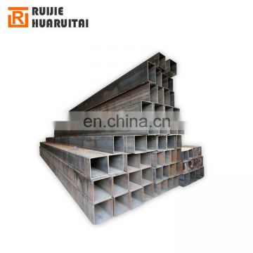 200*200 erw steel pipe for construction rhs a53 welded steel tube