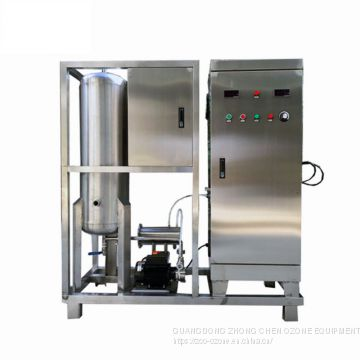 ozone generator for winery barrels and machine washing