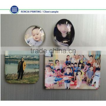 Free design beautiful picture and photo fridge magnet machine