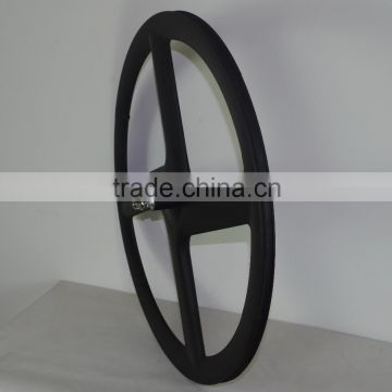 SZ4 synergy bike good quality fixied gear wheel carbon 4 spoke carbon wheel for track and road bicycle 700c