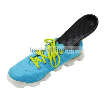 Black mesh antistatic insole eva arch support insole with anti-static wire safety shoe inserts