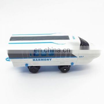 Christmas gift electric railway train toy sets with light and music