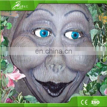 Decoration equipments waterproof life size animatronic talking tree