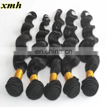 Wholesale Malaysian Virgin Hair Loose Wave Hair 100g Bundle9A Unprocessed Malaysian Hair Weave Extensions