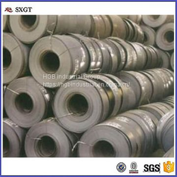 black construction Q195 hot rolled steel strip 125mm