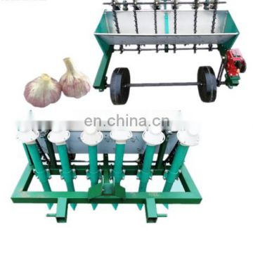 Good performance Semi-automatic Garlic seeder garlic seed planting machine