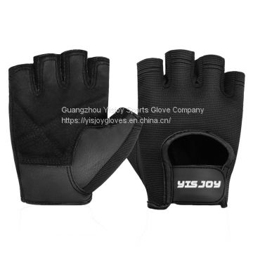 High Quality Genuine Leather Weight Lifting Training Gloves Mens Womens Bodybuilding Fitness Gym Gloves