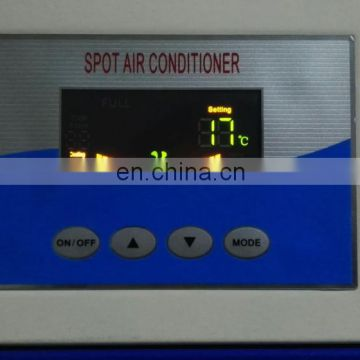 Single phase spot air conditioner for gardens