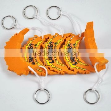 Oem Design Eva Float Key Ring Custom