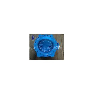 Flanged Ductile Cast Iron Butterfly Valve / Double Eccentric Butterfly Valves DN 100 ISO 5752