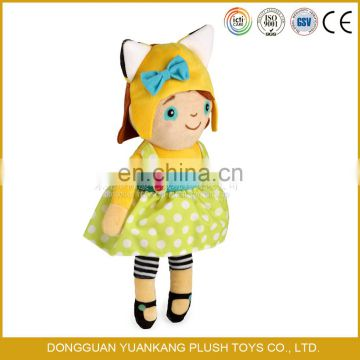 wholesale lovely plush newborn baby dolls toys for sale