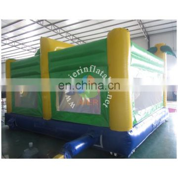 Inflatable crocodile obstacle for kids and adult PVC Outdoor Giant Inflatable obstacle commercial inflatable obstacle for sale