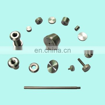 2016 high quality sheet metal slice nickel coated plate stamping automobile fastening kit metal threaded clamp