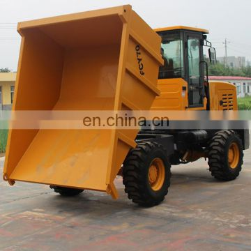 wholesale direct from china 4 wheel drive FCY70 Loading capacity 7 tons site dumper used for farming