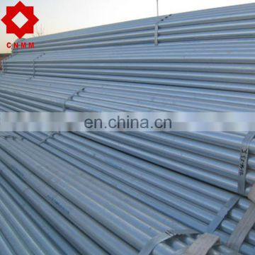 swaged end pre galvanized pipe with different sizes for sale gi round steel pipe/tube structure building material