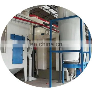 Advanced powder coating line machine for aluminum doors and windows