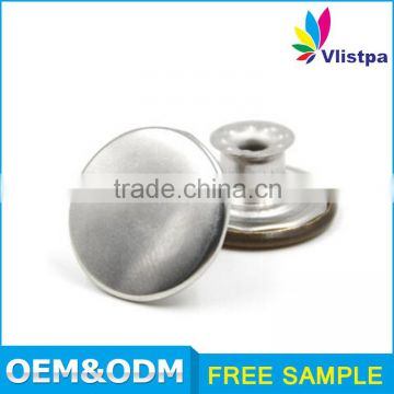 Custom Logo Wholesale metal 14mm hidden snap button