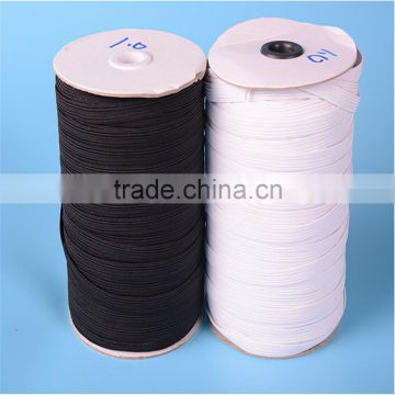 Braided Elastic Cord/Elastic Band/Elastic Rope/Bungee/Black Heavy Stretch Knit Elastic Spool