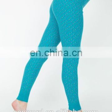 TOP Selling Fashion Style hot blue girls sexy ass leggings/yoga leggings