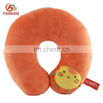 ICTI Personalized Custom Animal Stuffed U Shape Plush Cat Travel Neck Pillow