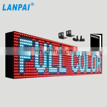 China express hot window led display P10 high brightness outdoor full color led advertising screen