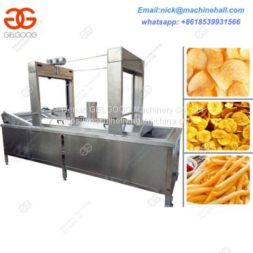 Plantain Chips Frying Machine|Factory Price Fried Plantain Chips Machine|Hot Selling|Plantain Chips Continuous Fryer