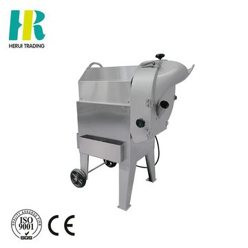 Multi-functional taro cube strip cutting machine