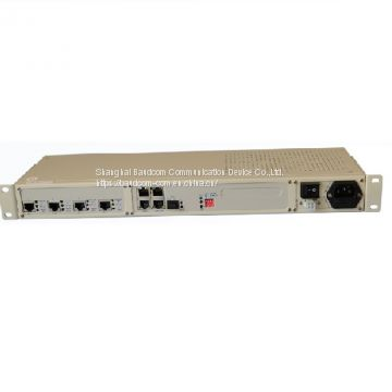 4 E1 TDM over IP converter 4E1 over Ethernet Multiplexer