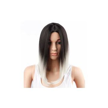Synthetic Hair No Chemical Wigs Cuticle Virgin Thick
