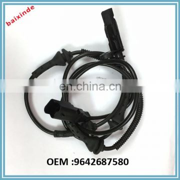 FRONT ABS ABR SPEED SENSOR 9642687580 FOR PEUGEOT 407 407SW CITROEN C6