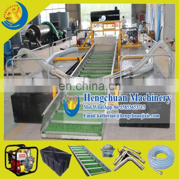 Hengchuan Mini River Sand Pumping Boat for Gold Mining