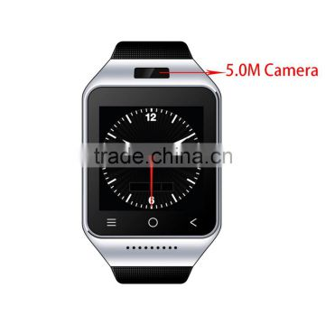 CE ROHS 5.0MP Camera Smart Watch Android dual SIM