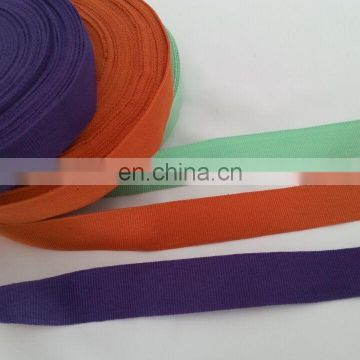 colored woven polyester webbings
