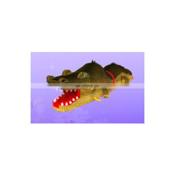 2017 high quality new design giant Inflatable crocodile obstacle course for sale