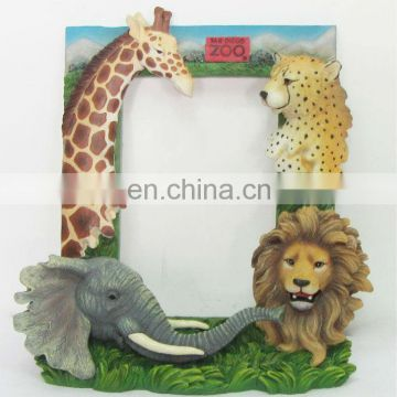 resin animal theme picture frame