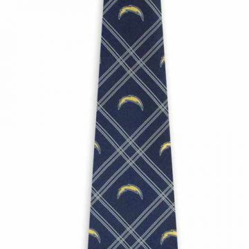 Extra Long Customized Polyester Woven Necktie Classic Strips Adjustable