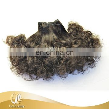 China Ex-work price best selling brazilian double drawn funmi hair in nigeria