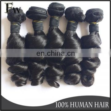 No tangle no shedding brazillian hair bundles with closure