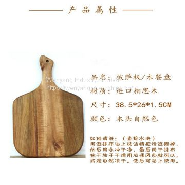 Top Selling Serving Tray Cutting Board Wooden Pizza Plate