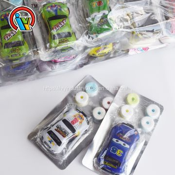 Car Toys with Whistle Compressed Candy