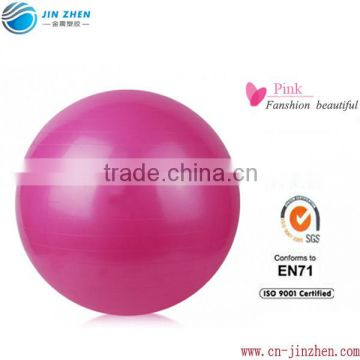 gym ball manfacturer in china pvc plastic eco-friendly pilates ball various pvc gym ball