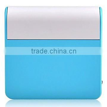 Magic Mirror Power Bank, 10400mAh USB External Battery Charger for Cell Phone ,18650 Power Bank