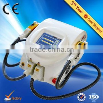 Hot promotion Big sale Portable 2 in 1 senma spa equipment shr ipl machine with CE