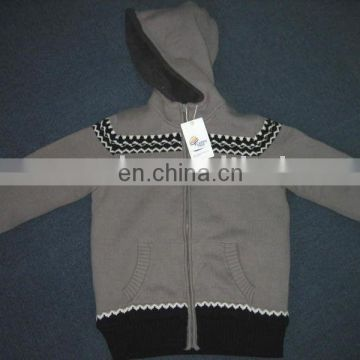 new design knitted kids pullover sweater latest design winter