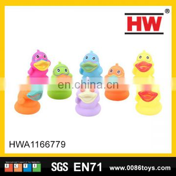 6cm small duck rubber animal toys