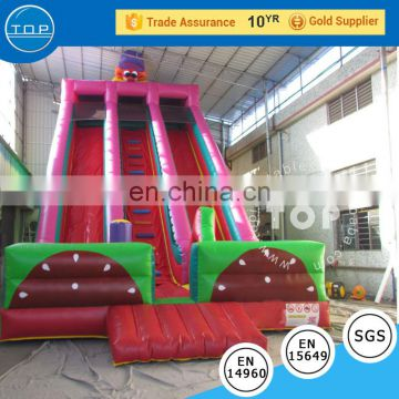 Top inflatable pool water wahoo inflatable dry slide commercial grade inflatable water slides