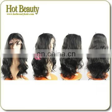 Can be dyed blonde color full cuticle Virgin remy Thick Human Hair Doll Wigs