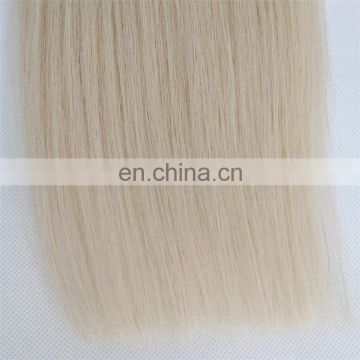 High Quality Sew in Human Hair Extensions Brazilian Hair Weave Blonde Human Hair