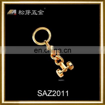 Song A SAZ2011 hot sale in metal bag chain,gold plated metal bag chain