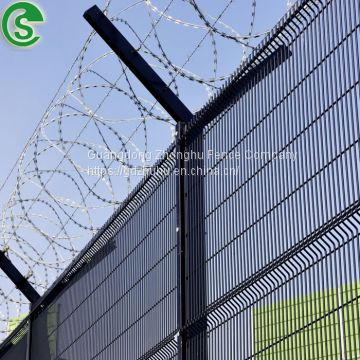 Corrison resistance anti-climb fencing clear vu fence for house